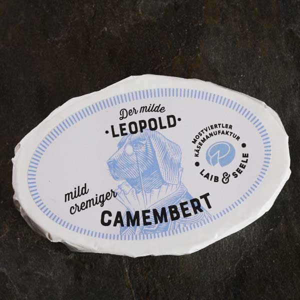 Mostviertler Käsemanufaktur Milder Leopold Camembert