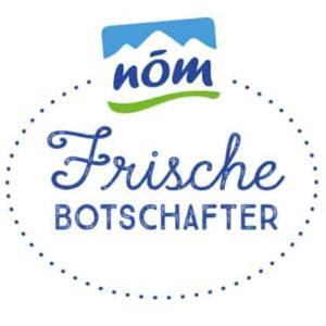 NÖM Frischebotschafter Logo