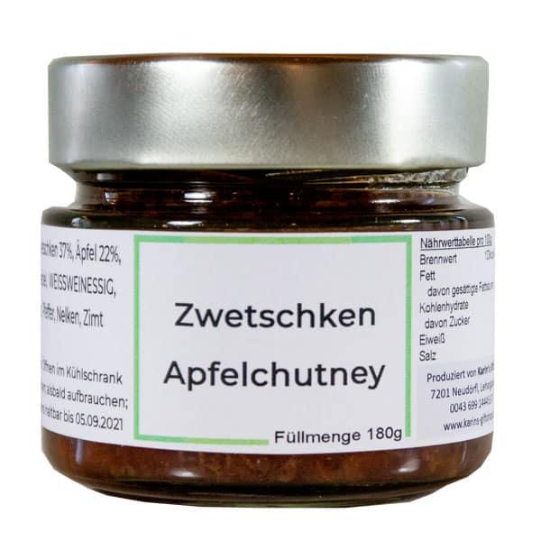 Zwetschken Apfel Chutney
